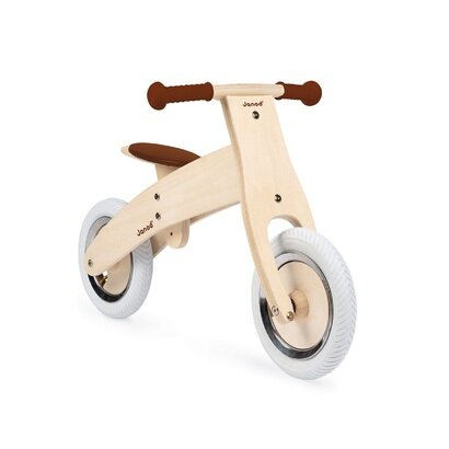 Drveni balansirajući bicikl s naljepnicama