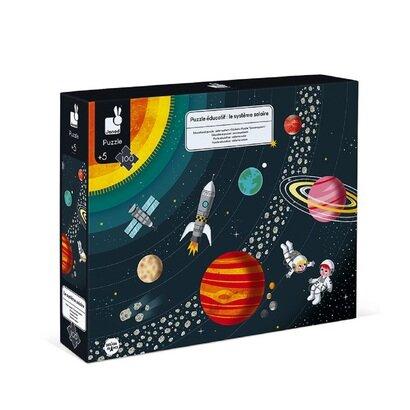 Edukativne puzzle sunčev sustav