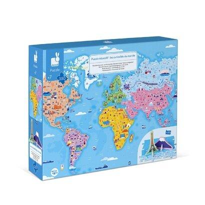 Edukativne puzzle svjetske znamenitosti
