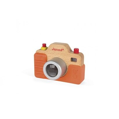 Drveni fotoaparat sazvukom