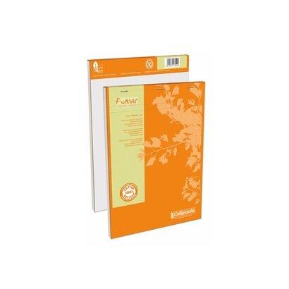 Eko blok a4 klamani 100 listova narančasti