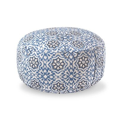 Jastuk za meditaciju 15  cm indigo paisley