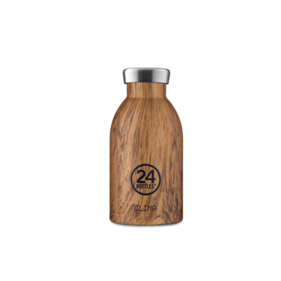 Termos boca 24bottle sequoia wood 330 ml