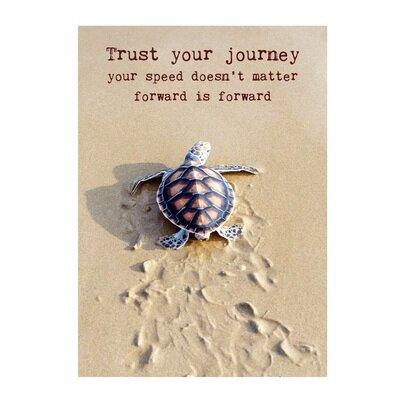 Čestitka trust your journey