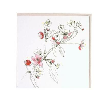 Čestitka apple blossom
