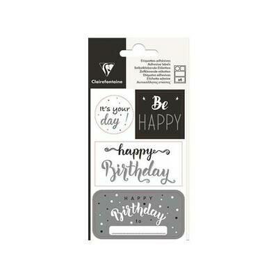 Naljepnice happy birthday 2