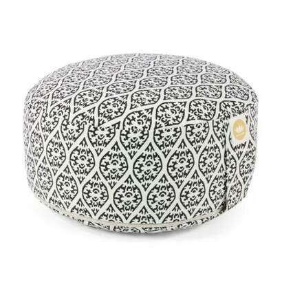 Jastuk za meditaciju 15 cm crni print