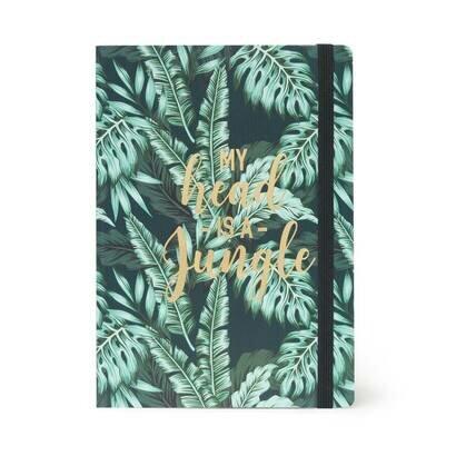 Legami bilježnica s crtama velika jungle