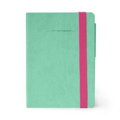 Legami bilježnica s crtama aqua