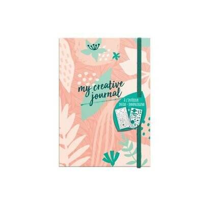 Clairefontaine moj kreativni dnevnik sweety a5 208 stranica