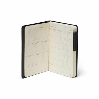 Legami bilježnica s crtama crna 3