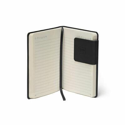 Legami bilježnica s crtama crna 4