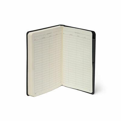 Legami bilježnica s crtama crna 5