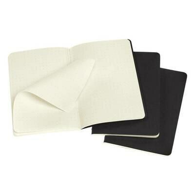 Bilježnica cahier točke crna set od 3 1