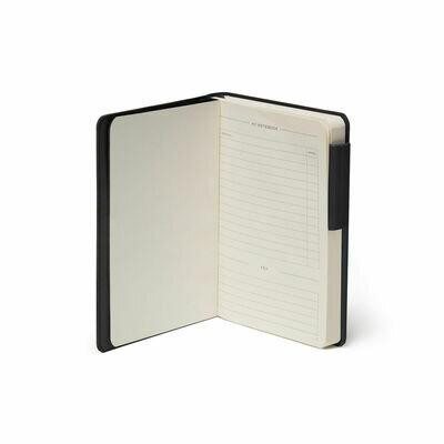 Legami bilježnica s crtama crna 1