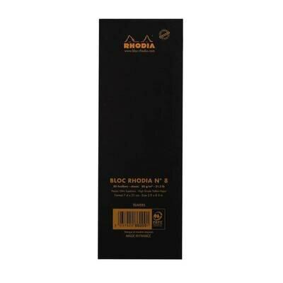 Blok rhodia n°8 crni 1