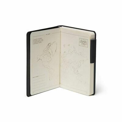 Legami bilježnica s crtama crna 2