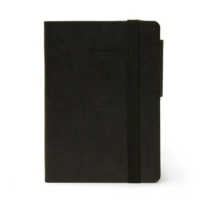Legami bilježnica s crtama crna