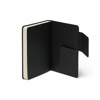 Legami bilježnica s crtama crna 6