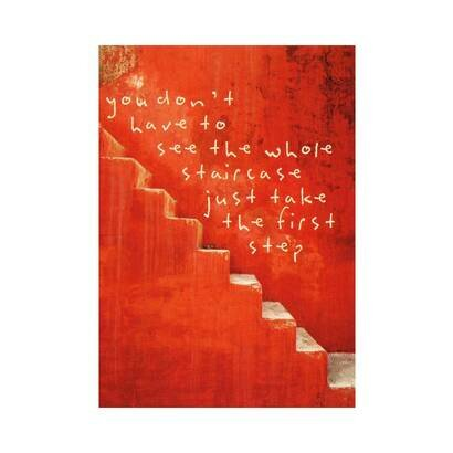 Cestitka red stairs