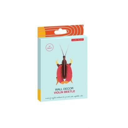 Zidni dekor violin beetle