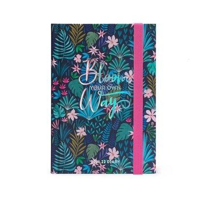 Legami tjedni planer bloom your own way 8 × 11 cm