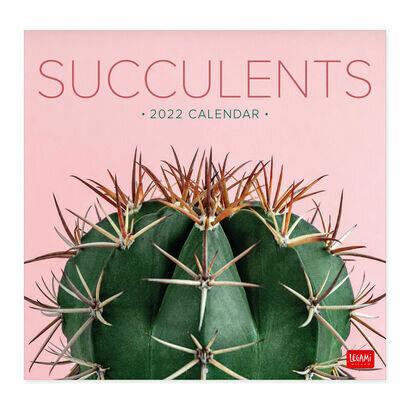 Legami kalendar 2022 kaktusi 30 × 29 cm