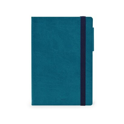 Legami dnevni planer 2022 petrolej plavi 12 × 18 cm